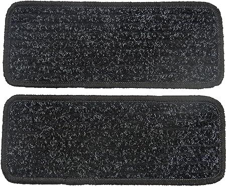 Alpha Tex Fußmatte 1614 Autoteppich 2 Einstiegsmatten In Qualität Robust Anthrazit Umrandung Schwarz Auto