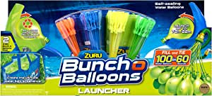 Bunch O Balloons 2 Launchers with 130 Rapid-Filling Self-Sealing Water Balloons by ZURU