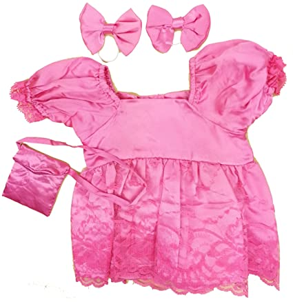 Buy Pink Formal Dress Fits Most 14 18 Build A Bear Vermont