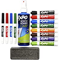 Expo LowOdor Markers Dry Erase Kit (Multi Colors)