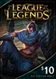 League of Legends $10 Gift Card - 1380 Riot Points - NA Server Only [Online Game Code]