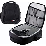 Navitech Protective Portable Projector Carrying Case and Travel Bag for the Optoma HD141X Full HD 3D 1080p  + Optoma S316 + Optoma X316 + Optoma S321