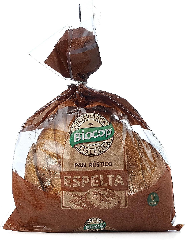 Biocop Pan Rústico Blando Espelta, 350 G: Amazon.es: Hogar