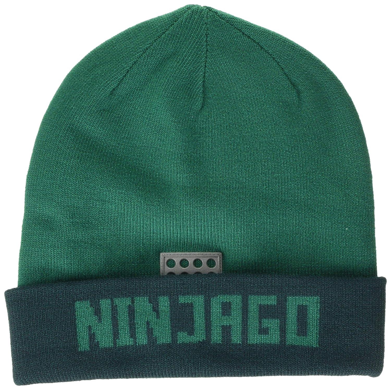 LEGO Wear Boys Lego Ninjago Lwalfred 708-Strickm/ütze Hat, Size: 52 Dark Green 875 26