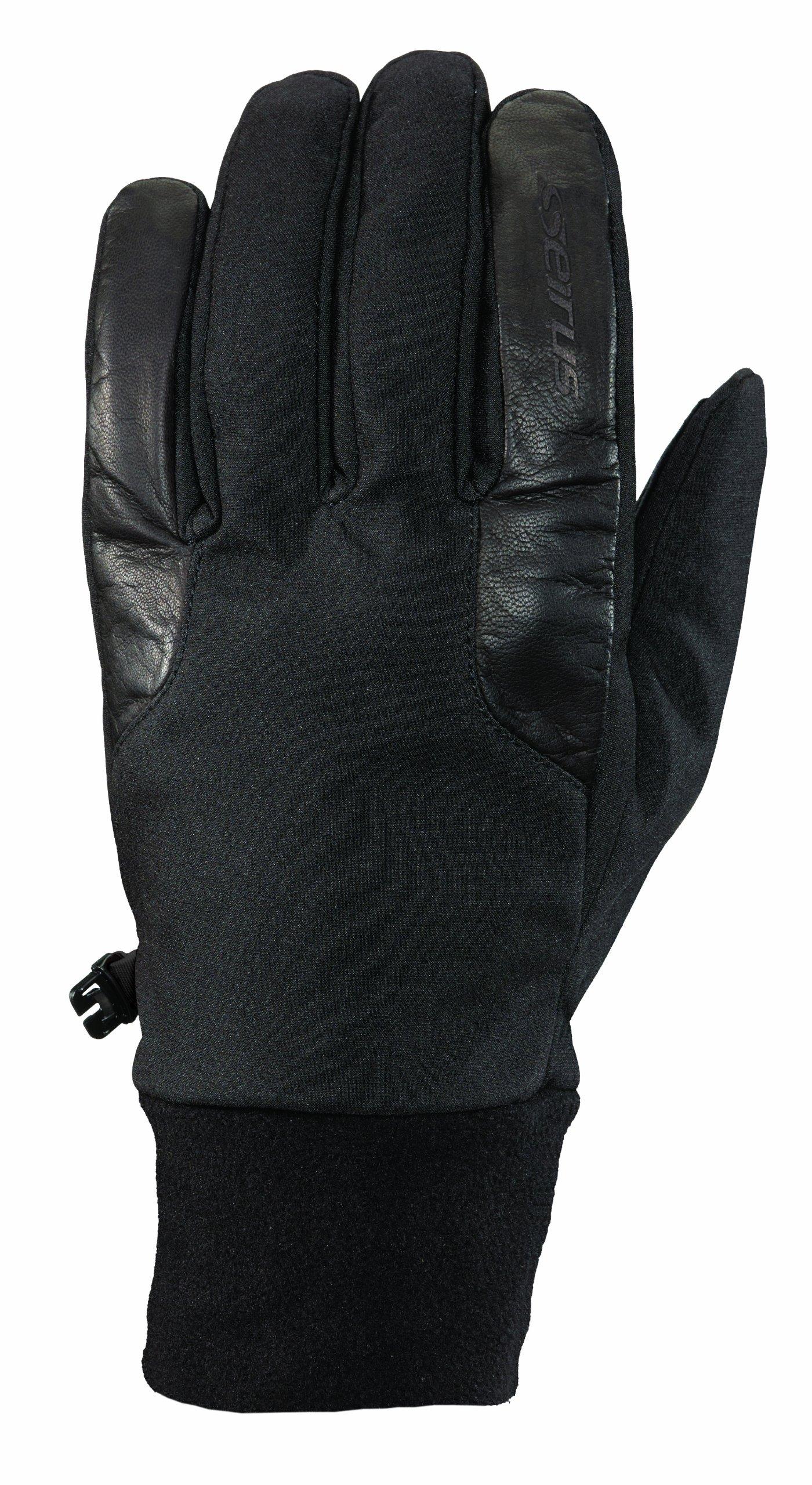 Seirus Innovation Men's Windstopper Blizzard Gloves, Black, Large