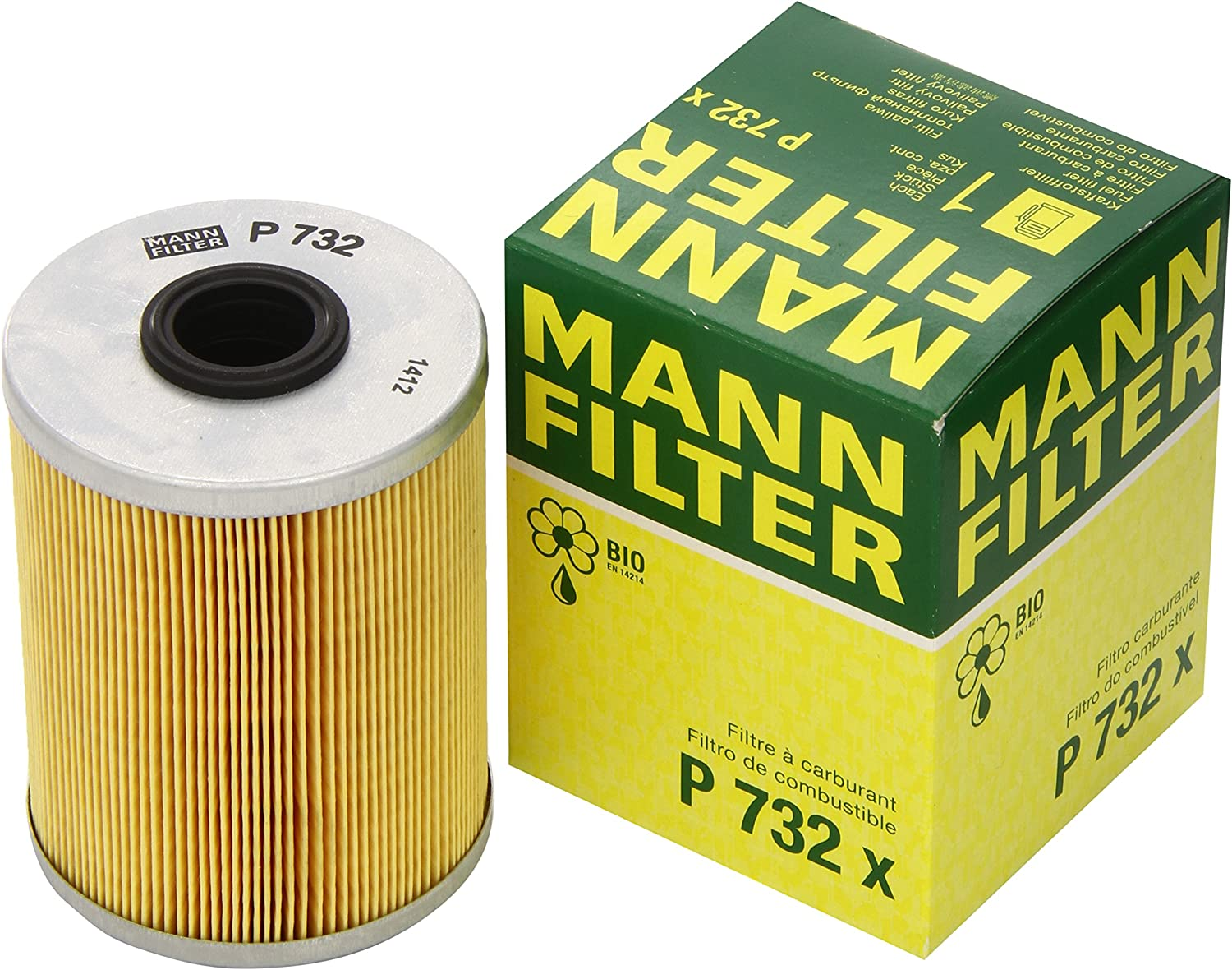 Mann Filter P732x Filtro Combustible: Amazon.es: Coche y moto