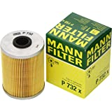 Mann-Filter P732x Filtro Combustible