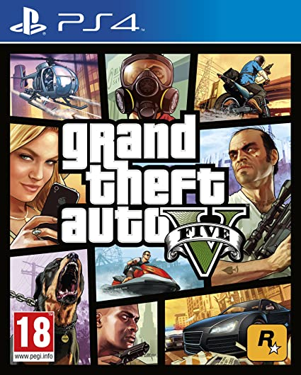 Take-Two Interactive Grand Theft Auto V, PS4 Básico PlayStation 4 ...