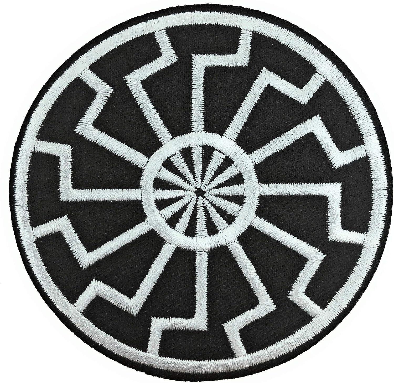 Gemelolandia | Parche Bordado Termoadhesivo Sol Negro 7,5cm | Muy Adherentes | Patch Stickers Para Decorar Tu Ropa | Fáciles de Poner: Amazon.es: Ropa y accesorios