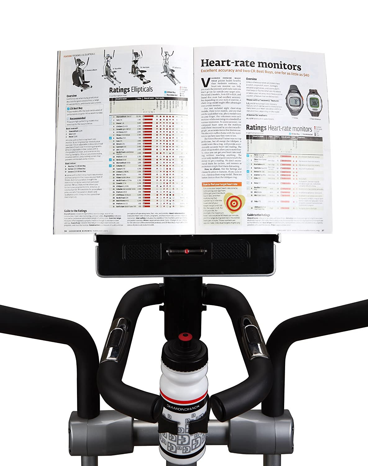 Amazon.com : Diamondback Fitness 910Ef Elliptical - Front Drive : Elliptical Trainers : Sports & Outdoors