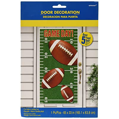 Amscan Game Day Vertical Door Party Decoration: Toys & Games