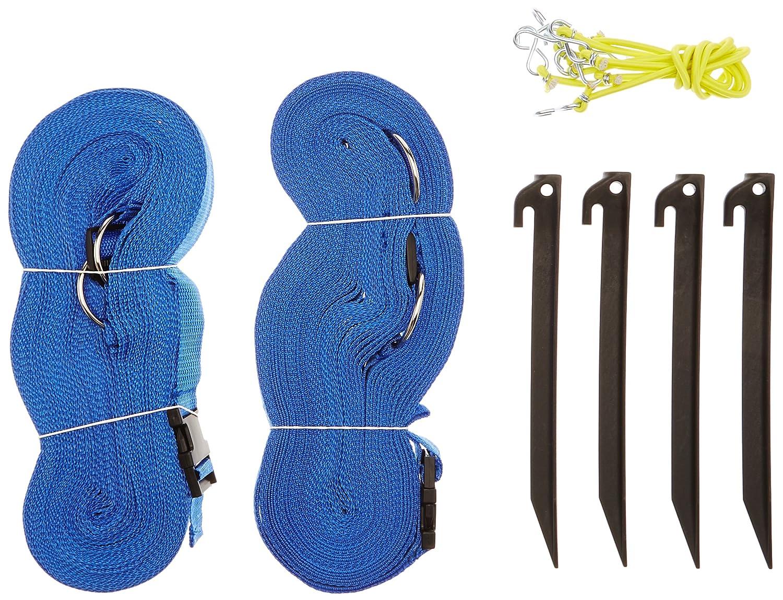 Park & Sun Sports Cinta de delimitación terreno 2,5 cm, color azul M114452