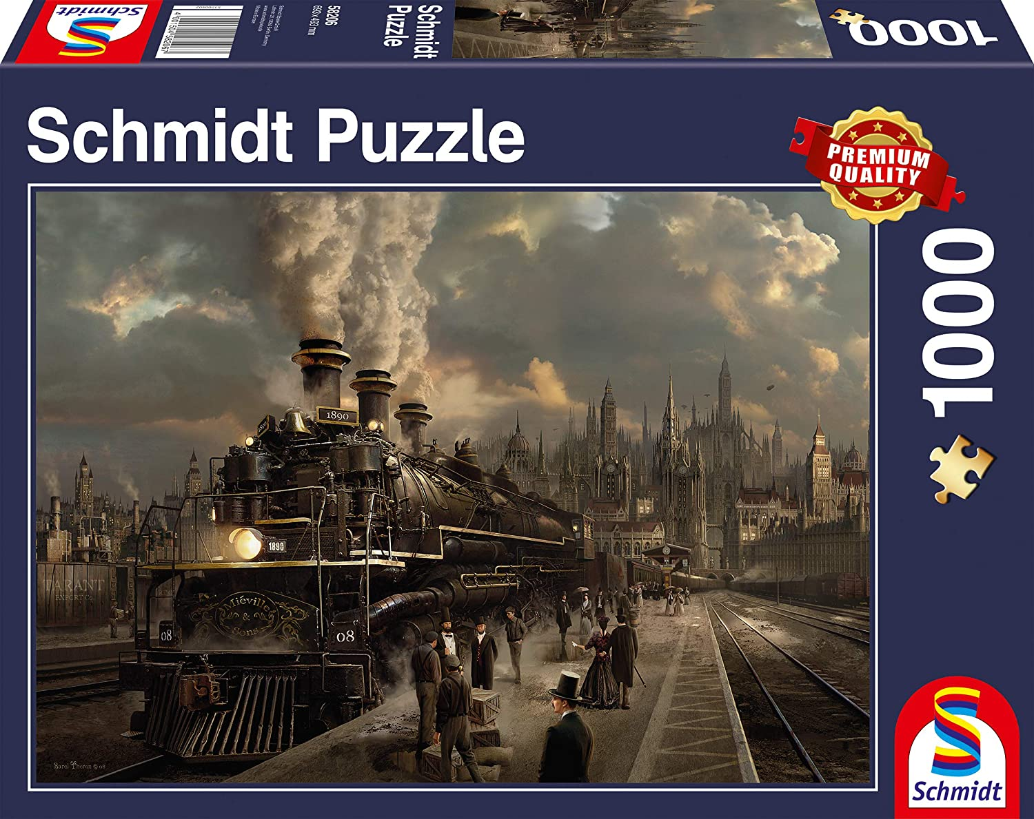 SCHMIDT Locomotive Puzzle, 1000-Piece Lion Rampant Imports Ltd SCH58206