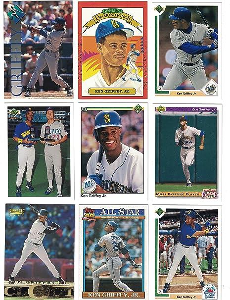 buy online eda46 7b4d9 Ken Griffey Jr. / 100 Assorted Baseball Cards Featuring Ken ...