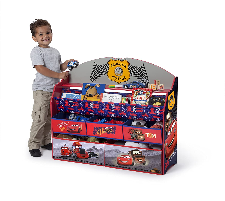 Disney//Pixar Disney Cars Deluxe Book /& Toy Organizer