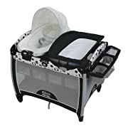 Graco Pack 'n Play Quick Connect Portable Bouncer with Bassinet, Balancing Act