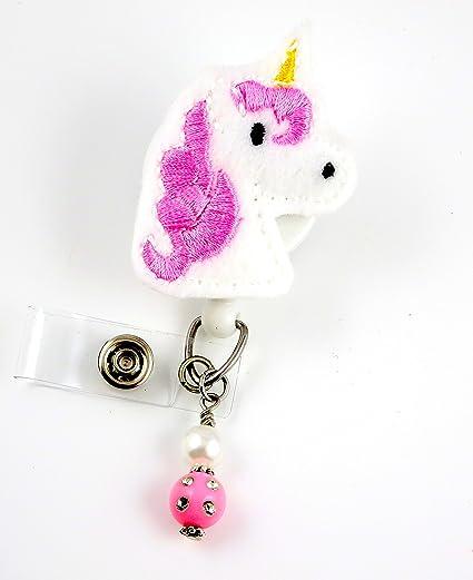 Unicorn cadeaux pour porte-clés//ID Badge//Infirmière pédiatrique 2 Licorne longes