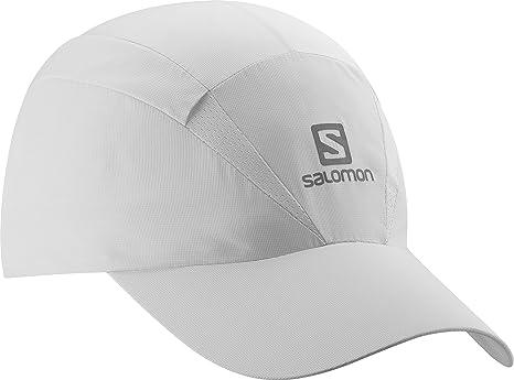 Salomon Unisex XA Running Cap White Sports Breathable Lightweight