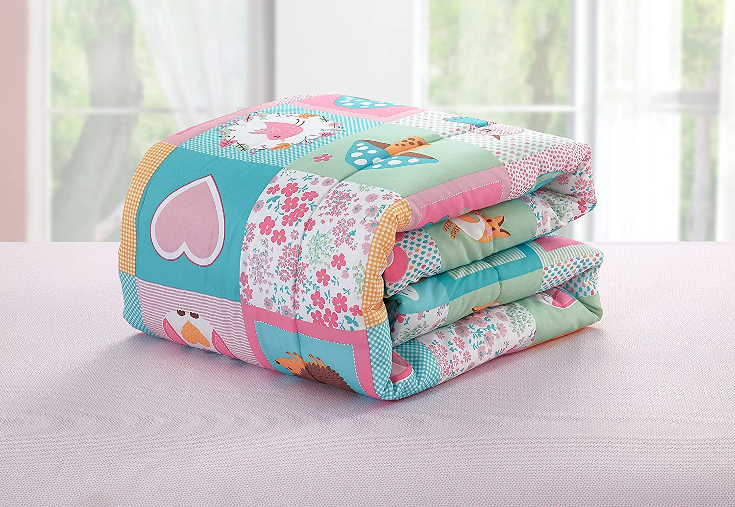 Little Starter Toddler Bed in a Bag Set Busy Cars