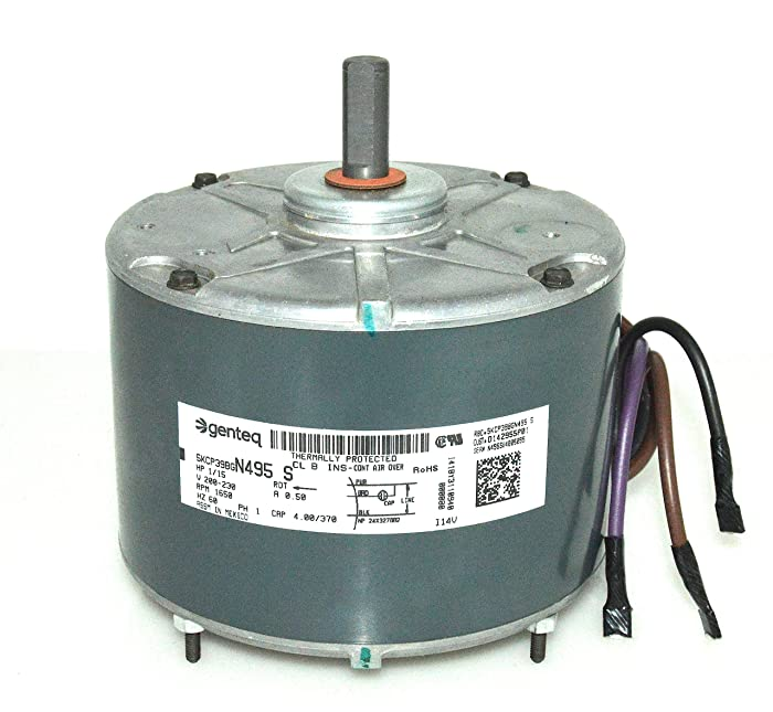 Top 8 115 Hp Condenser Fan Motor