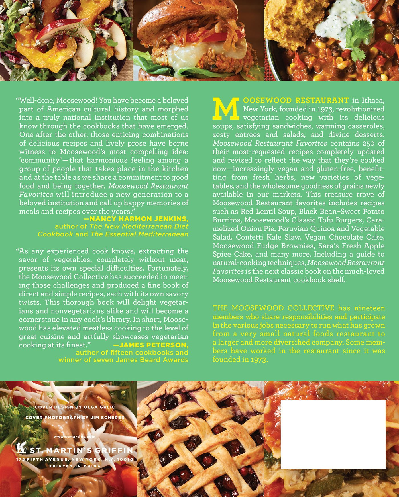 Moosewood Restaurant Favorites Amazon Co Uk Moosewood