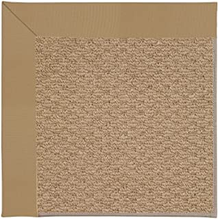 product image for Capel Rugs Zoe-Raffia Rectangle Machine Tufted Area Rug, 2 x 3', Light Gold