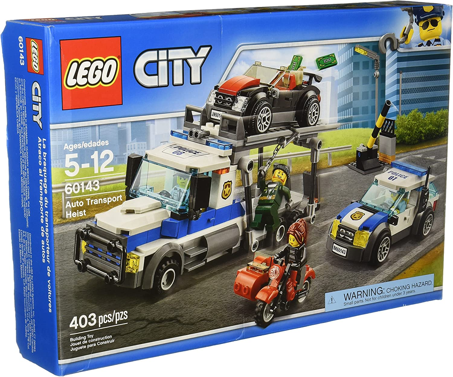 LEGO City Police Auto Transport Heist (60143)