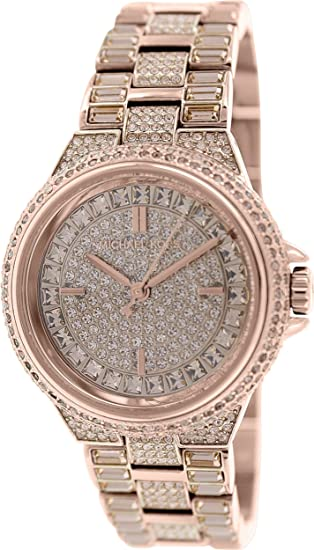 e857cf3259733 Michael Kors Women s Camille MK5948 Rose-Gold Stainless-Steel Quartz Watch  Michael  Kors  Amazon.ca  Watches