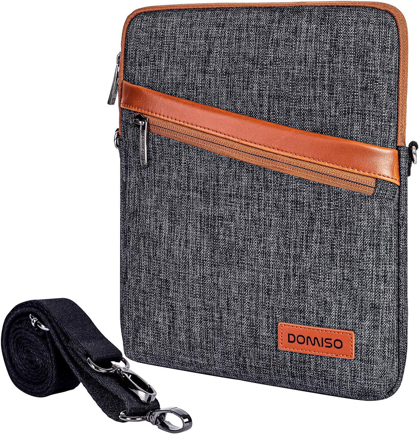 DOMISO 10 Inch Waterproof Shockproof Tablet Shoulder Bag iPad Sleeve Protective Case Clutch Bag for 9.7