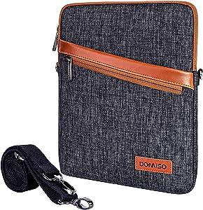 DOMISO 8 Inch Waterproof Shockproof Tablet Shoulder Bag iPad Sleeve Protective Case Clutch Bag for 7.9