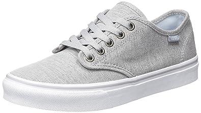 f779e370deeacc Vans Women s Camden Stripe Lace-Up Trainers Grey ((Menswear) Light ...