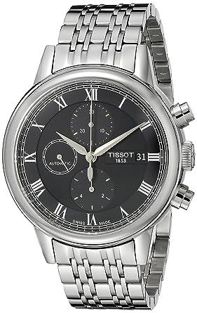 Tissot Homme T0854271105300 Carson Affichage analogique Swiss Automatique Argent Montre