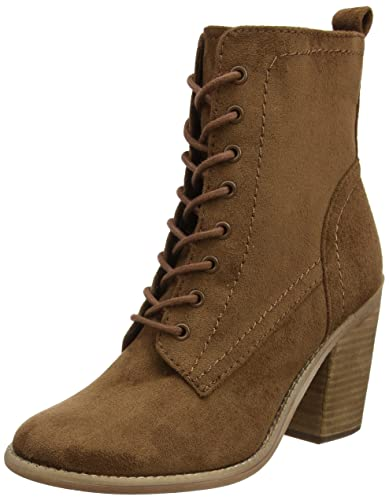 c6cea746153b2 Dorothy Perkins Women's Amethyst Lace up Combat Boots, Brown (Brown), 4 UK