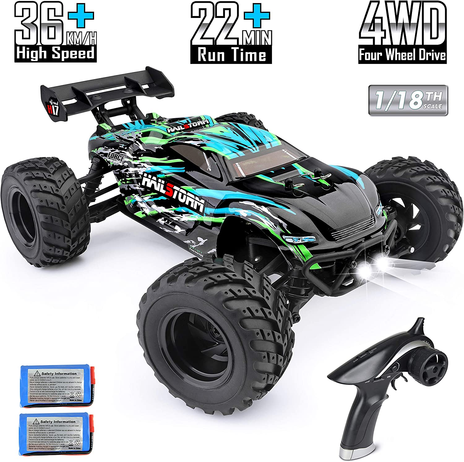 HAIBOXING RC Cars Hailstorm