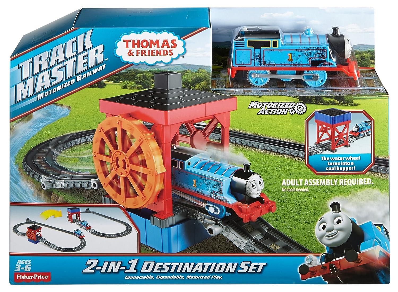 Fisher price thomas amp friends trackmaster treasure chase set new - Amazon Com Fisher Price Thomas Friends Trackmaster 2 In 1 Destination Set Toys Games