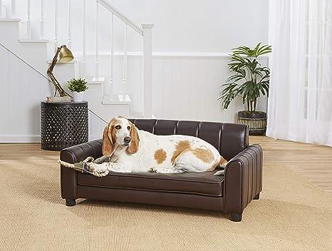 Amazon.com: Enchanted Home Pet Ludlow Pet Sofa - Pebble ...