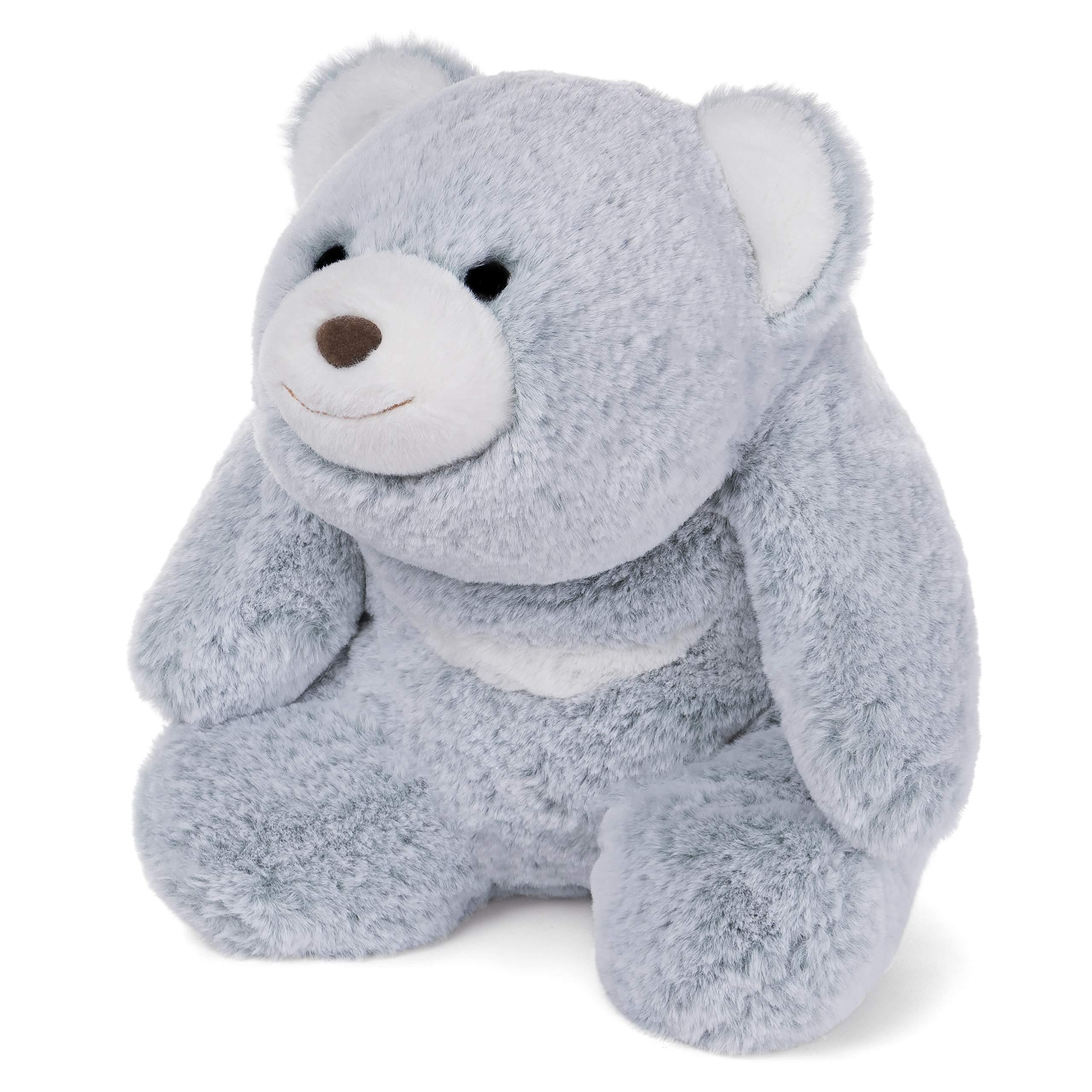 GUND Snuffles Teddy Bear Stuffed Animal Plush, Two-Tone Ice Blue, 13'' by GUND