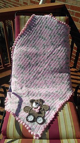 Crochet Bear/Crochet baby blanket/crochet animal blanket/crochet ... | 500x280