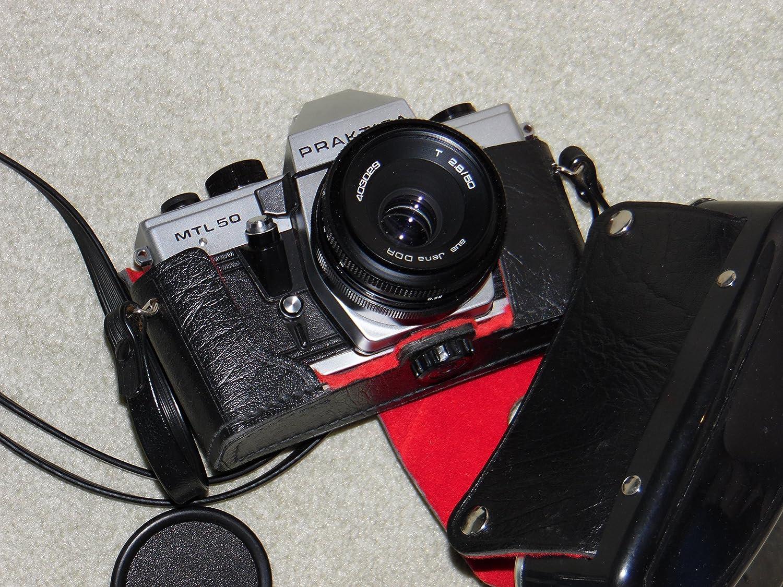 Praktica mtl 50 analoge spiegelreflexkamera inkl. objektiv t 2.8