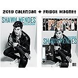 Shawn Mendes Calendar 2019 + Shawn Mendes Refrigerator Magnet