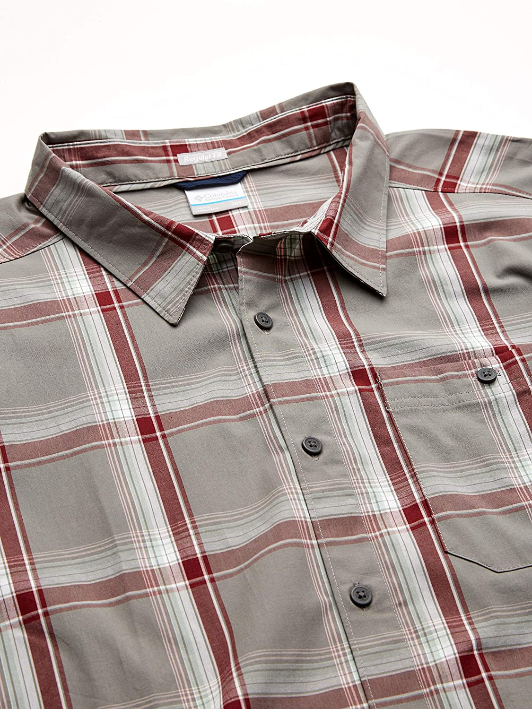 Columbia Mens Boulder Ridge Short Sleeve Shirt