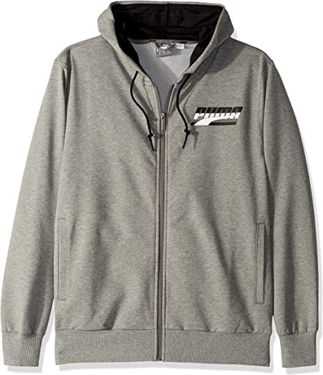 PUMA Men's Rebel Hooded French Terry Jacket