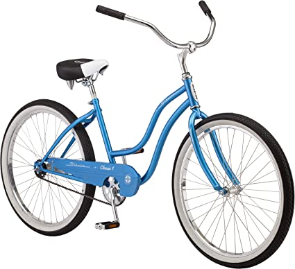 "Schwinn Cruiser Commuter Bike 26"" Women's Comfort Blue Beach Hybrid Bicycle New!"