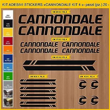 Kit Pegatinas Stickers Bicicleta Cannondale - Kit 4-20 Piezas ...
