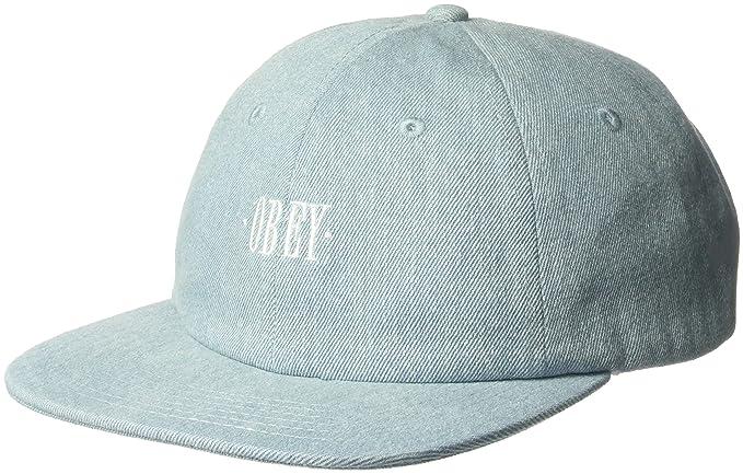 Amazon.com  Obey Men s ROSA 6 Panel Snapback HAT b792c9738e52