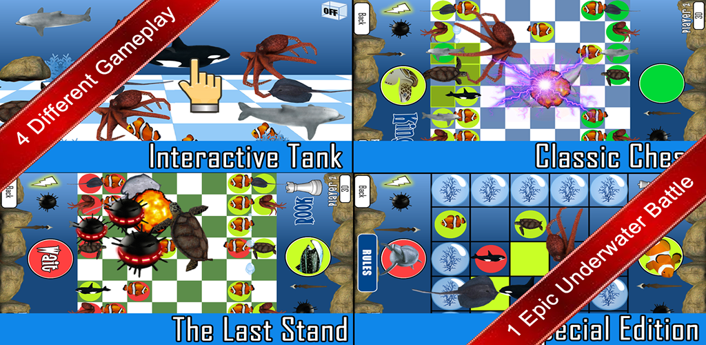 The 8 best chess underwater