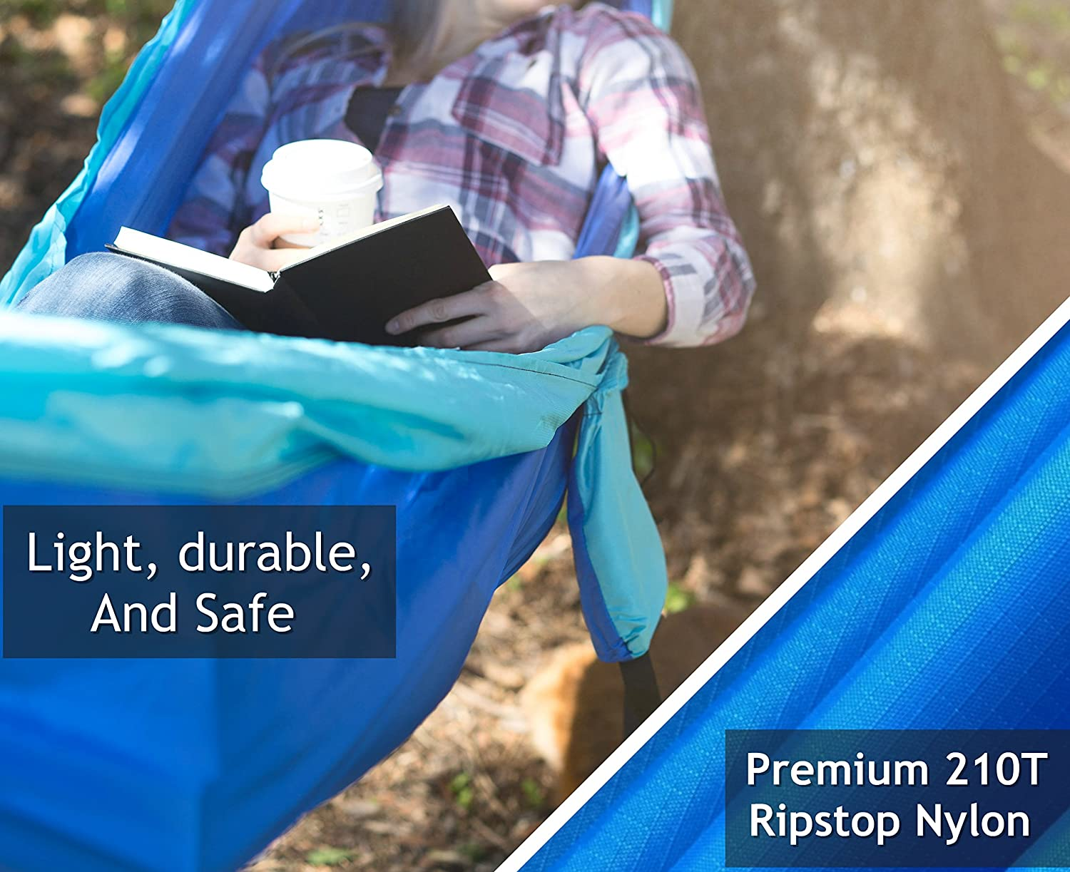 or Backyard Relaxation Best Portable Parachute Hammocks for Hiking Camping Hammock with Tree Straps Beach Fun