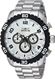 Invicta Men's 'Pro Diver' Quartz Stainless Steel Casual Watch, Color:Silver-Toned (Model: 24601)