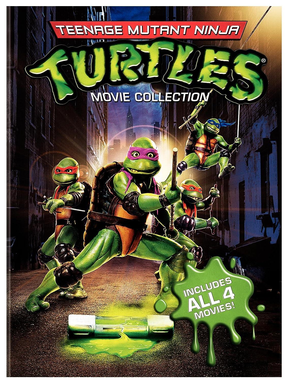 Amazon.com: Teenage Mutant Ninja Turtles Movie Collection (Teenage Mutant  Ninja Turtles / Secret Of The Ooze / Turtles In Time / TMNT): Various:  Movies U0026 TV