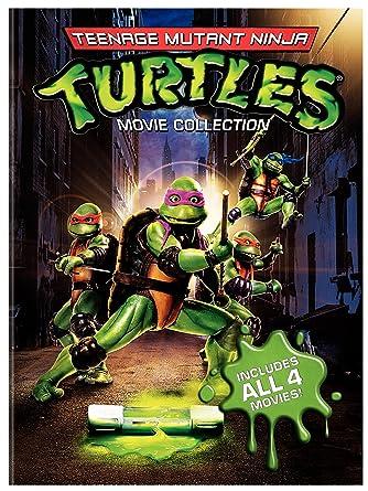 60ad954d1b511 Amazon.com  Teenage Mutant Ninja Turtles Movie Collection (Teenage Mutant  Ninja Turtles   Secret of the Ooze   Turtles in Time   TMNT)  Various   Movies   TV